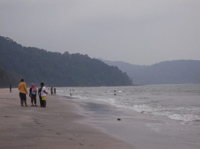 Beach at Air Papan