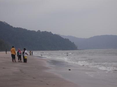 Beach at Air Papan