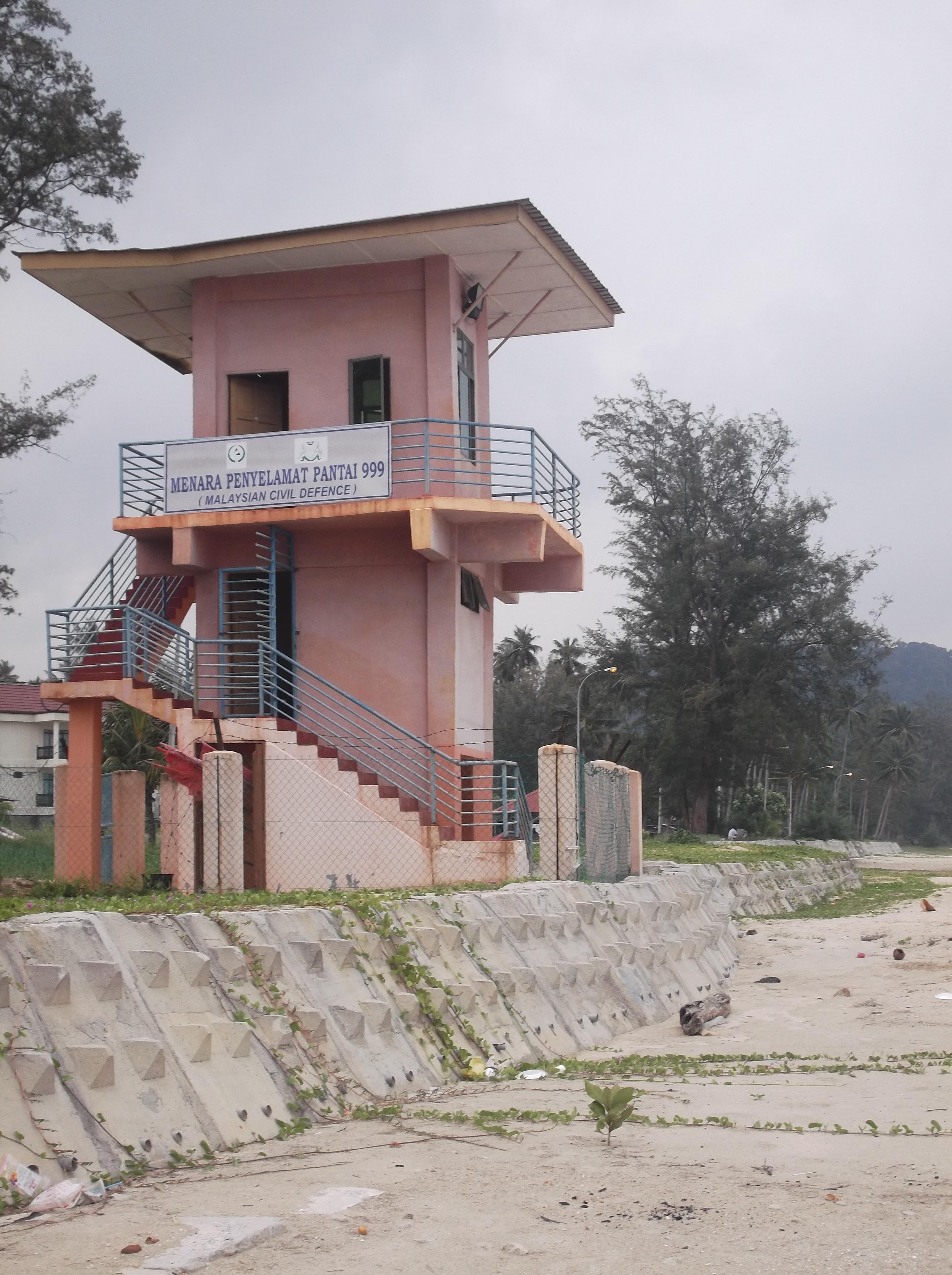 Air Papan Blog Lifeguard Tower at Air Papan
