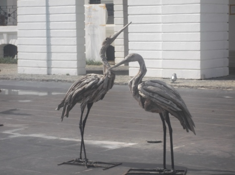 Wooden Cranes