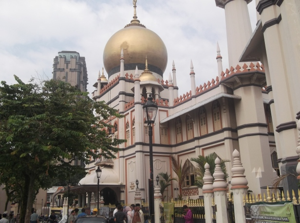 View of Masjid Sultan Singapore