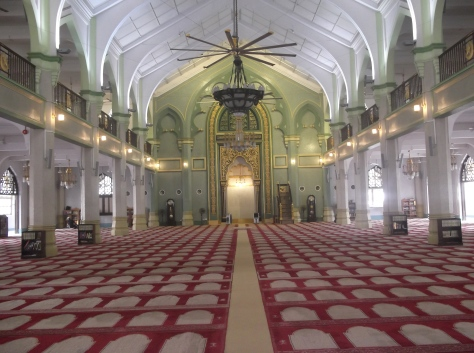 Masjid Sultan, Singapore - Inside View