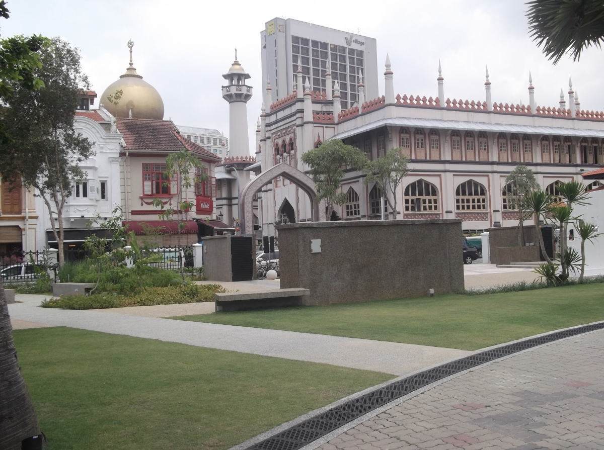 Masjid Sultan from Istana Kampung Gelam