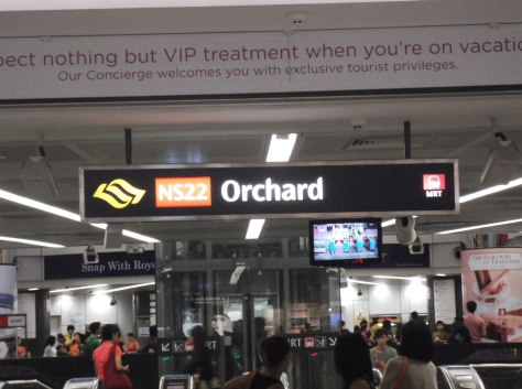 Orchard Road MRT Station