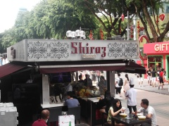 Iranian food anyone? Bistro on the sidewalks of Orchard Road(@ all rights reserved)