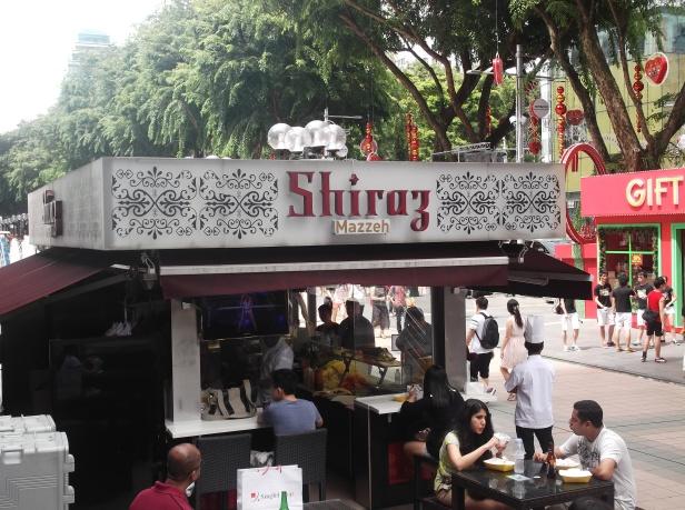 Shiraz Bistro at Orchard Road