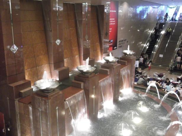 Underground Water Fountain