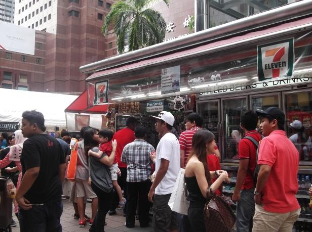 7-11 at Orchard Road
