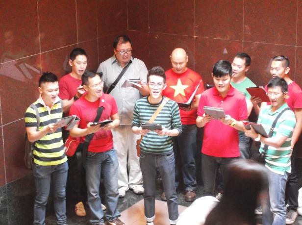 Carol Singers in Singapore