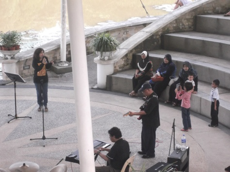 Music Performance at Taman Merdeka