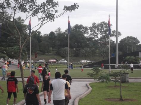 Evening at Taman Merdeka