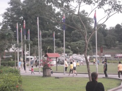 Activities at Taman Merdeka. Jogging n brisk walking etc(@ all rights reserved)