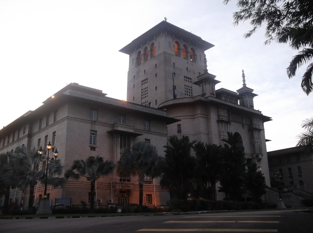 Bangunan Sultan Ibrahim (Evening View)