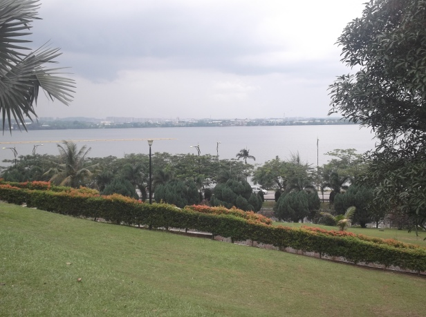 View from Sultan Abu Bakar State Mosque