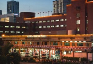 Night view of the Hospital Sultanah Aminah (source : malaysiacentral.com)