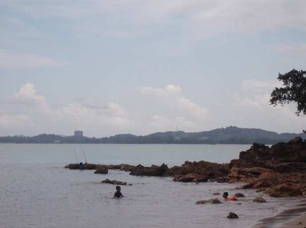 Teluk Buih - View of the Right Hand Side
