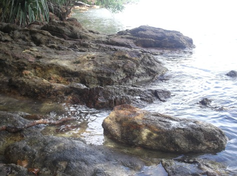 Rocks of Teluk Buih
