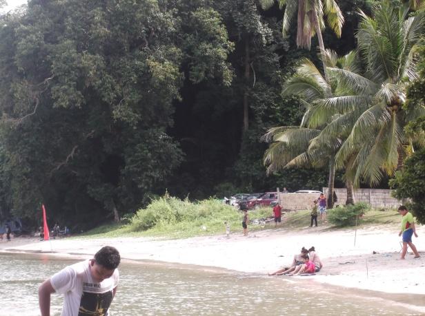 A Scene at Teluk Buih