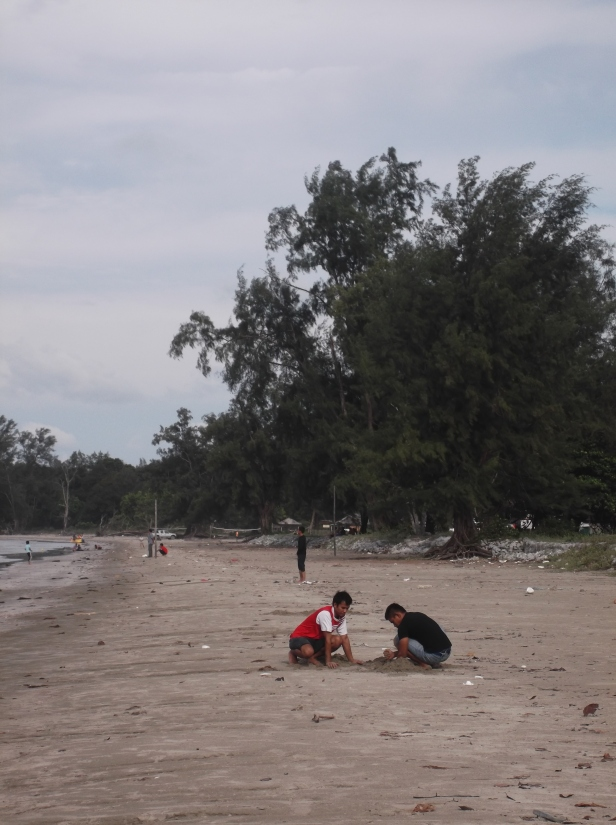 Scene at Tanjung Resang