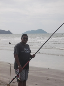 Fishing enthusiast - Rahim of Bandar Muadzam Shah, Pahang