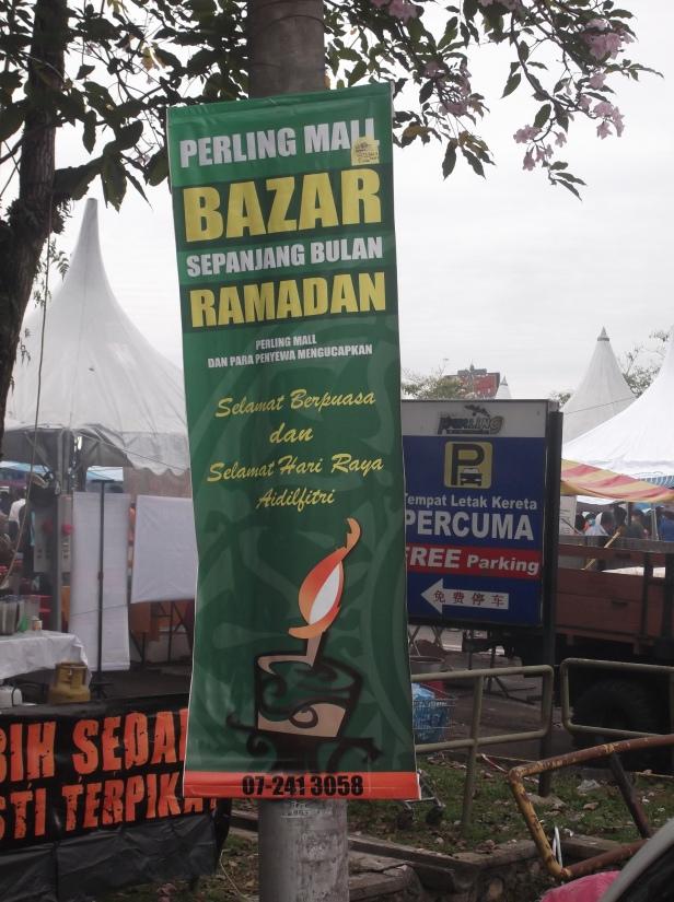 Bunting - Bazaar Ramadan at Perling Mall, YTaman Perling,  Johor Bahru