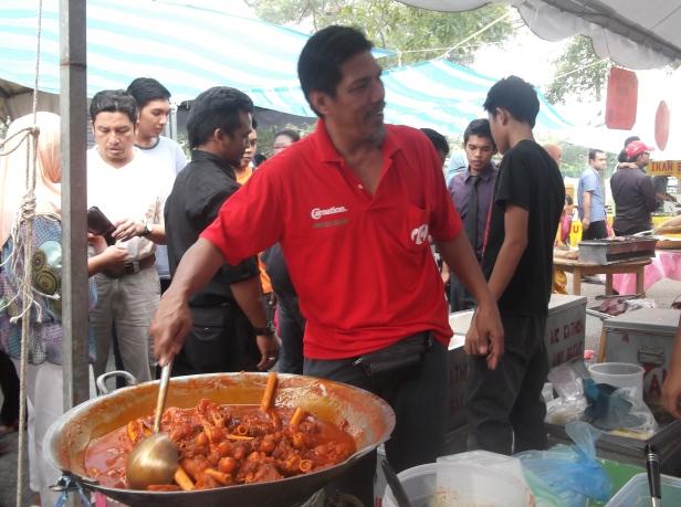 Scene at Bazaar Ramadan Stall