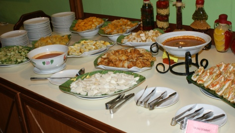 Buffet Ramadan Spread
