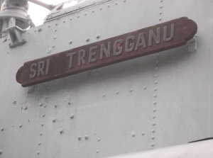 The battleship, Sri Trengganu
