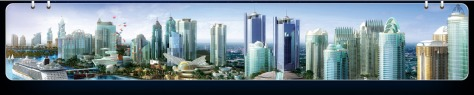 An artist's impression of the City of Johor Bahru of the future (source : irda.com.my)