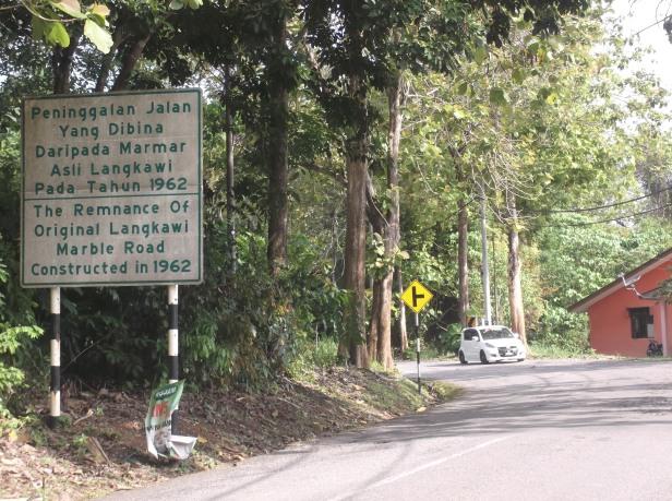 Old Marble Road - Langkawi