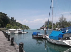 Pier side view of the Petronas Quay. (@ all rights reserved)