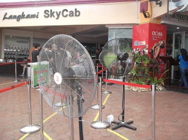 Langkawi SkyCab - Fans
