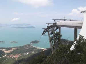 Of metal and cables is the Langkawi SkyCab made of (@ all rights reserved)