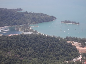 Petronas Quay from the highest station at Langkawi SkyCab. (@ all rights reserved)