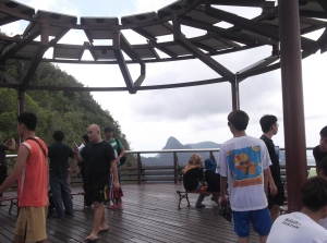 Taking in the breathtaking view from the top of the Langkawi SkyCab ride. (@all rights reserved)