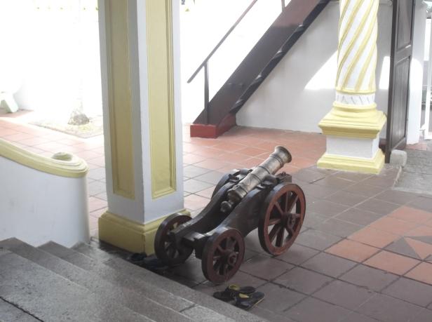 Masjid Kampung Hulu - Cannon