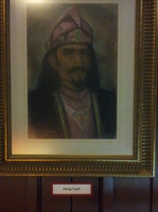 A portrait of Tun Tuah, the legendary warrior of the Melaka Sultanate. (@ all rights reserved)