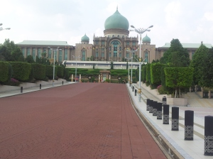The Prime Minister's Office Complex (PMO) at Dataran Putra, Putrajaya. @ all rights reserved.