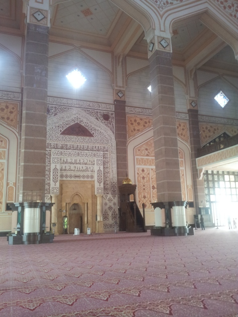 Inside the Putra Mosque