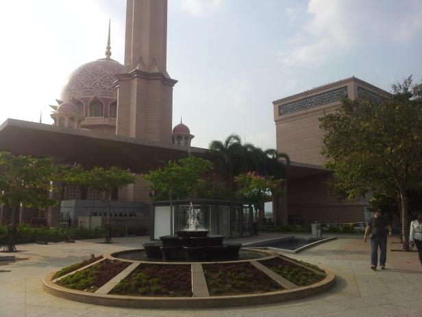 Dataran Putra - Outside Putra Mosque