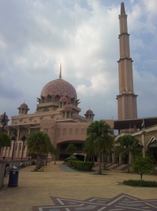 The Putra Mosque, located at Dataran Putra. @ all rights reserved