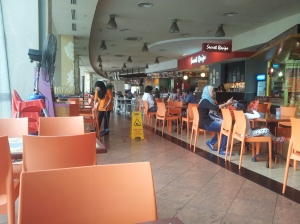 Selera Putra, a air conditioned food court with different and many choices of food to choose from.