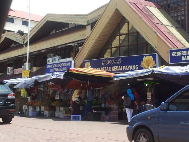 The Pasar Besar Kedai Payang