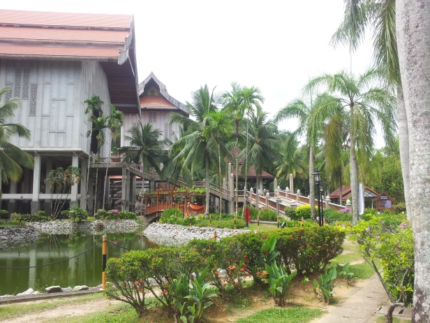 Side View - Entrance to Terengganu State Museum