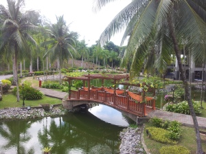 The fish pond, adding to the serene and tranquil to the Terengganu State Museum complex. (@ all rights reserved)