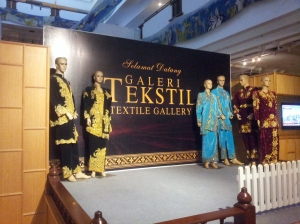 The Textile Gallery, telling the story of Terengganu's textile industry. (@ all rights reserved)