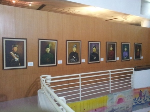 The potraits of some of the Chief Ministers of Terengganu. (@ all righst reserved)