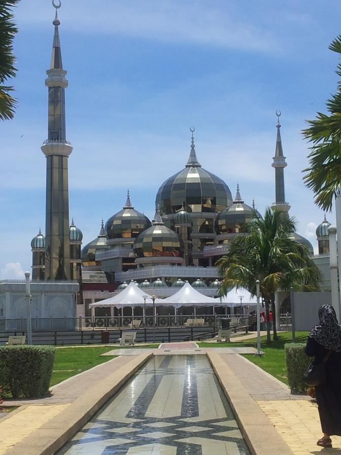 The Crystal Mosque of Kuala Terengganu