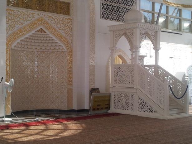 Pulpit of Masjid Kristal