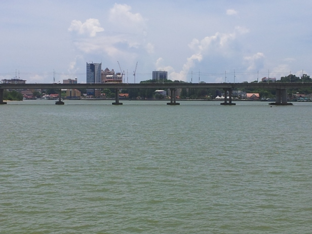 A view of Kuala Terengganu